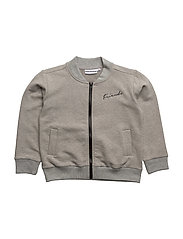 THE BOMBER JACKET DESERT FOXES - GREY