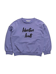 THE SWEAT SHIRT WITH BALLON SLEEVES ADVENTURE - VIOLET