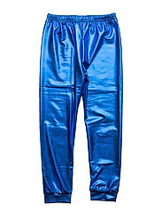 METALLIC LEGGINGS - BLUE