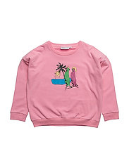 THE CLASSIC SWEAT SHIRT DESERT FOX - CANDY PINK