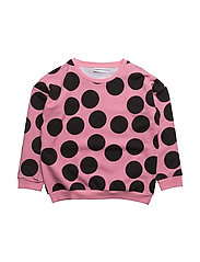 THE CLASSIC SWEAT SHIRT PINK DOT AOP - CANDY PINK