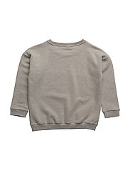 THE CLASSIC SWEAT SHIRT CONRAD CAMEL CHESTPRINT - GREY