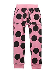 HANG OUT PANTS PINK DOT AOP - PINK