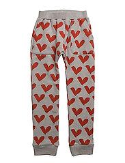 HANG OUT PANTS LOVE HEART JUMBO - GREY