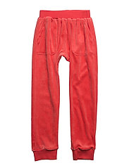 HANG OUT PANT VELOUR - PINKY ORANGE