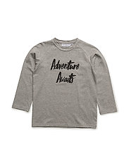 THE LONG SLEEVED TEE ADVENTURE - GREY