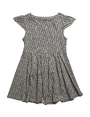 THE SWIRL DRESS HOPES AND DREAMS - GREY