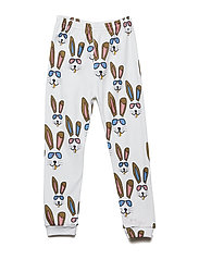 THE COOL LEGGINGS BENNY BUNNY - WHITE