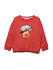 THE CLASSIC SWEAT SHIRT BANANA LOVER MONKEY - RED