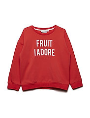 THE CLASSIC SWEATSHIRT FRUIT I ADORE - RED
