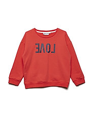 THE CLASSIC SWEATSHIRT REVERSE LOVE - RED