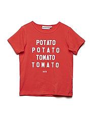 THE COOL TEE POTATO TOMATO - RED