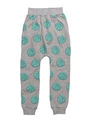 SLOUCHY PANTS BASKET BALL - GREY
