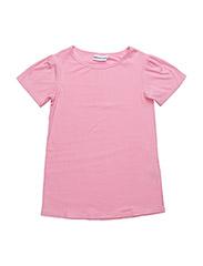 T SHIRT DRESS MODAL - PINK