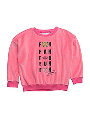 THE CLASSIC VELOUR SWEATSHIRT SOCIAL FAN CLUB - CANDY PINK