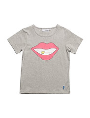THE COOL TEE SMILE - HEATHER GRAY