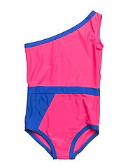 GRAPHIC SWIMSUIT - CANDY PINK