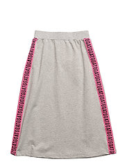 GATG LONG SKIRT - HEATHER GRAY