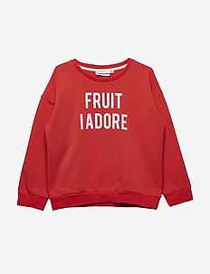 THE CLASSIC SWEATSHIRT FRUIT I ADORE - RED