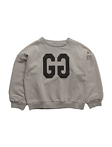 THE SWEAT SHIRT WITH BALLON SLEEVES GG - GREY