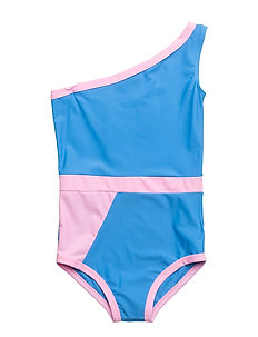 GRAPHIC SWIMSUIT - LIGHT BLUE