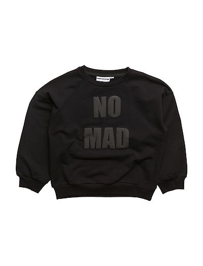 THE SWEAT SHIRT WITH BALLON SLEEVES NOMAD BLACK - BLACK