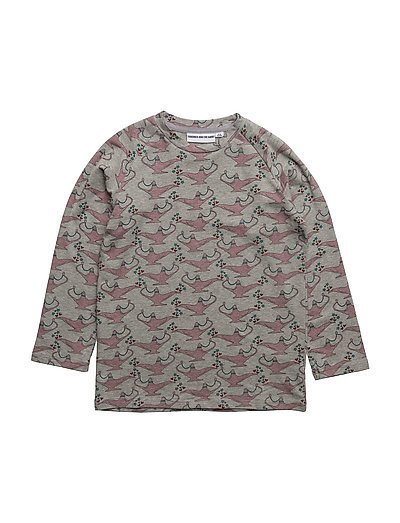 THE LONG SLEEVED TEE THE LAMP OF ALADDIN - GREY