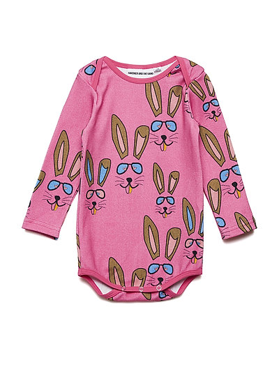 THE ROMPER BENNY BUNNY - PINK