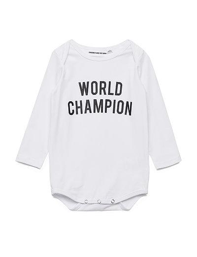 THE ROMPER WORLD CHAMPION - WHITE