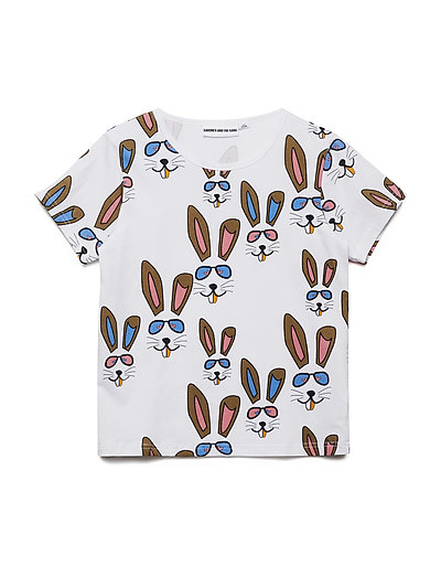THE COOL TEE BENNY BUNNY - WHITE