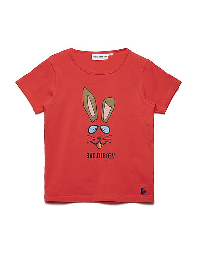 THE COOL TEE VEGGIE BUNNY - RED