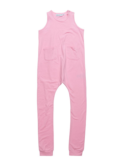 SHORT SLEEVED ONESIE - PINK