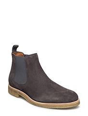 Chelsea Boot - GREY SUEDE
