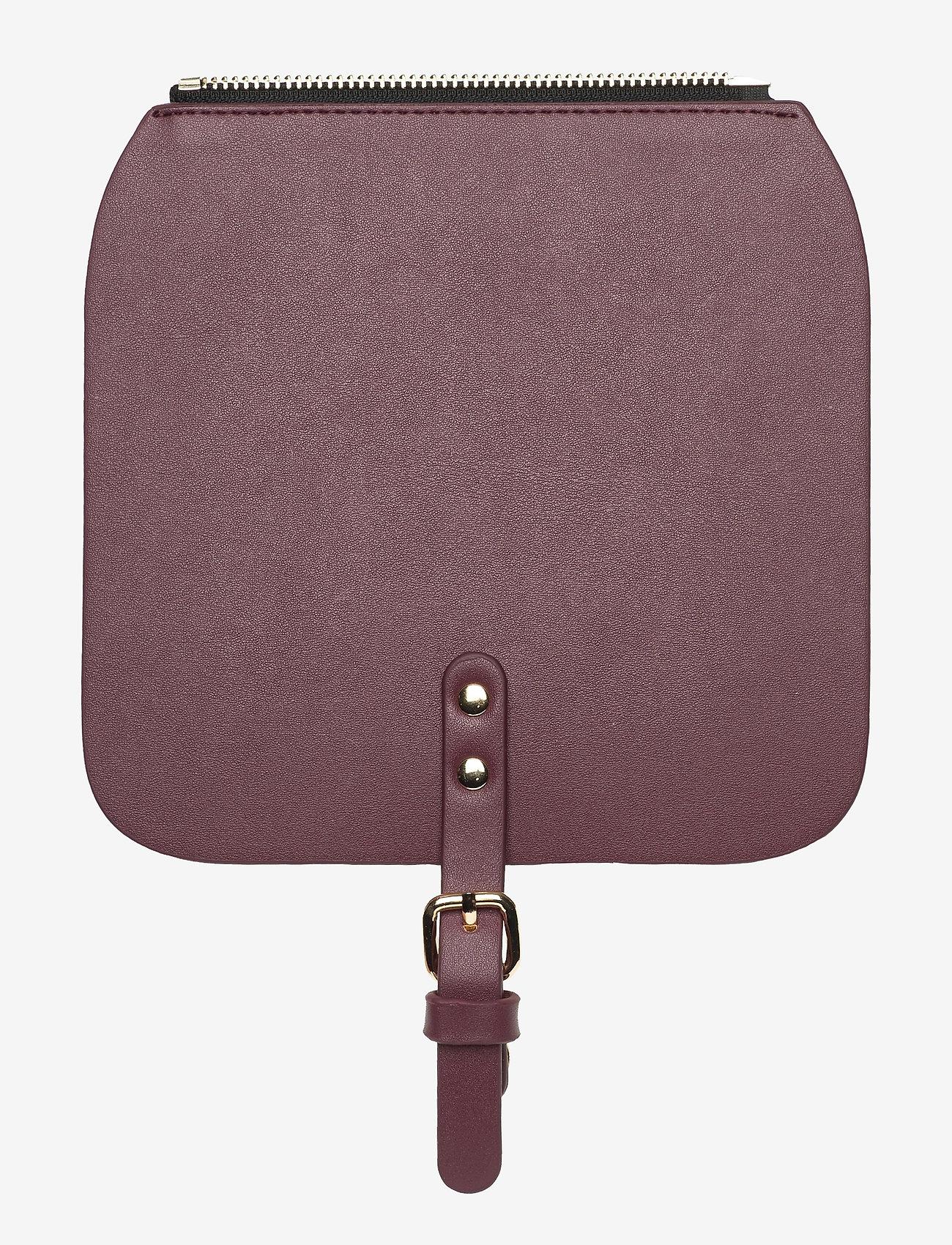 Gaston Luga - Clässy Mini Flap Top - laukun hihnat - burgundy - 0