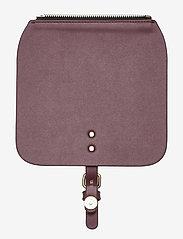 Gaston Luga - Clässy Mini Flap Top - laukun hihnat - burgundy - 1