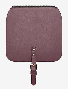 Clässy Mini Flap Top - axelremmar - burgundy
