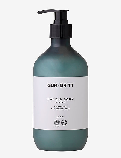 Hand & Body Wash Svane & Allergy - bad & dusj - clear