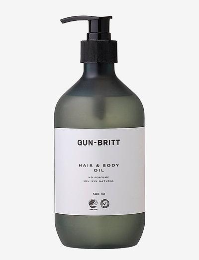 Hair & Body Oil Svane & Allergy - vartaloöljyt - clear
