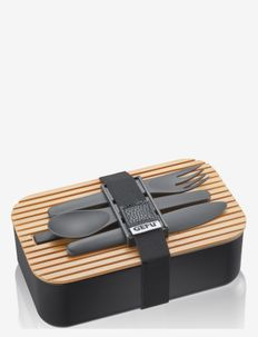Lunch box ENVIRO - matlådor - black