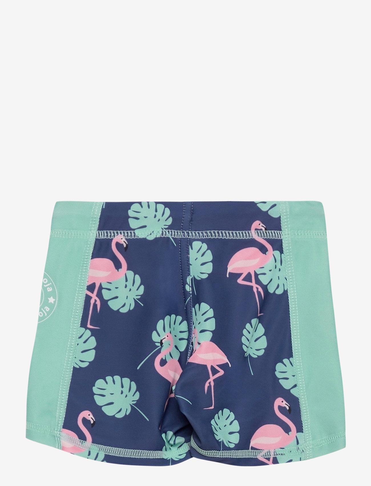 Geggamoja - UV short pant Flamingo - pantalon uv - flamingo - 1