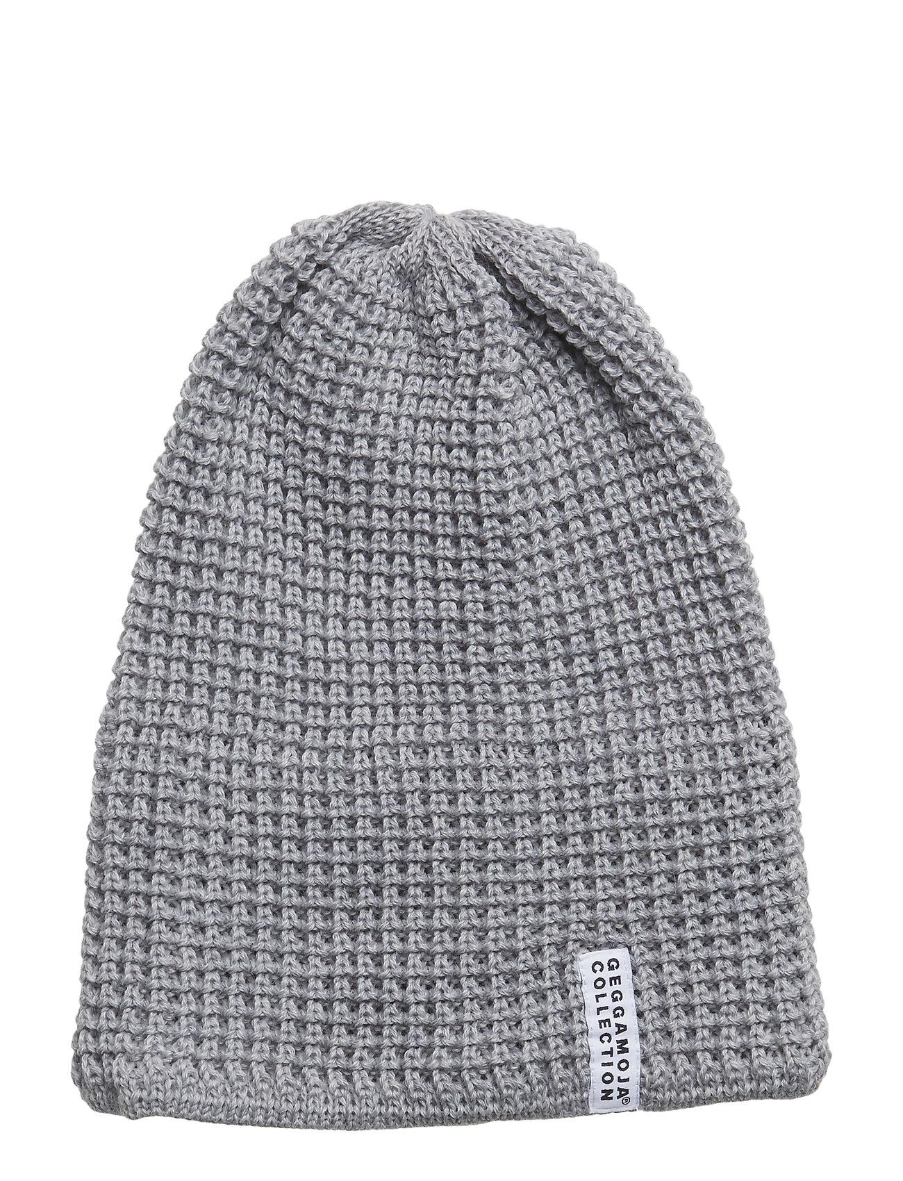 Image of Knitted Beanie Hat Grå GEGGAMOJA (3075387905)