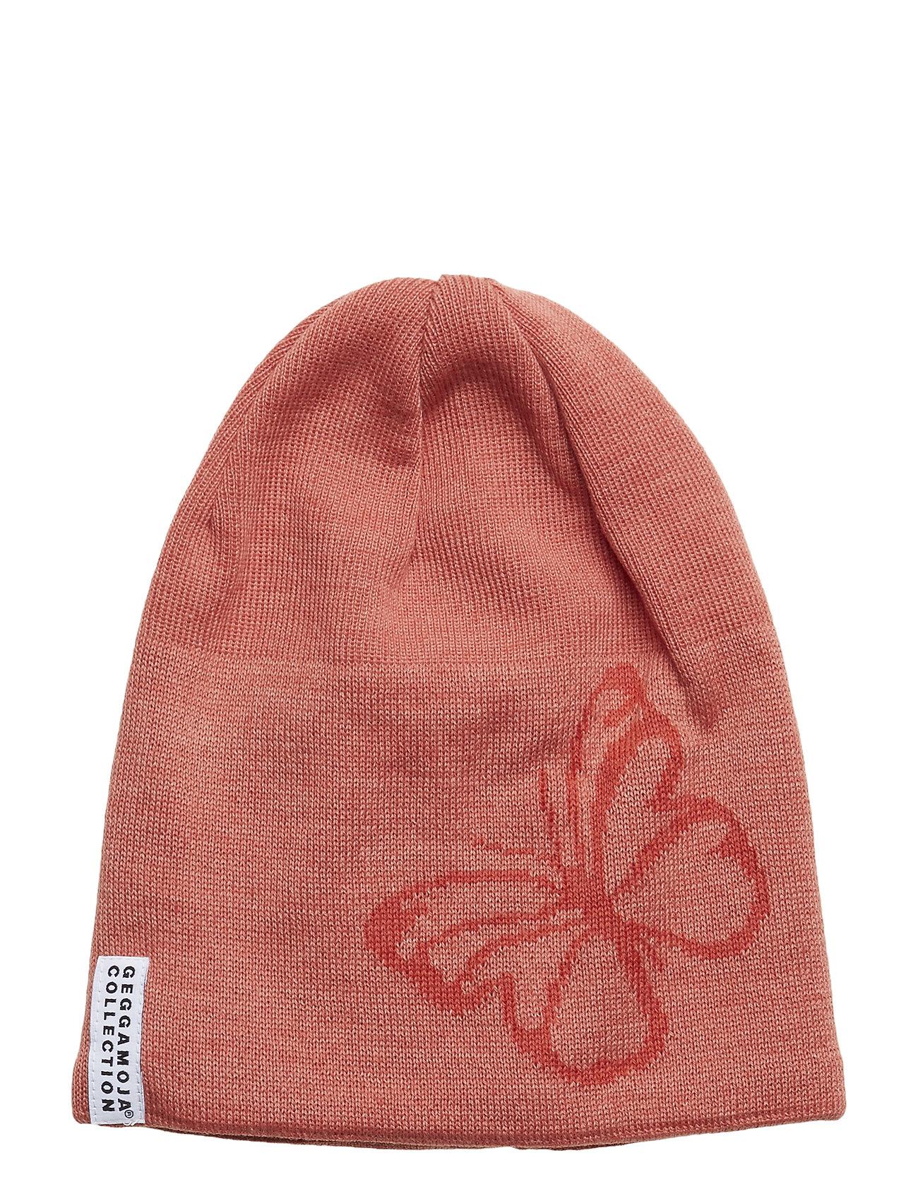 Image of Knitted Beanie Hat Lyserød GEGGAMOJA (3076486105)