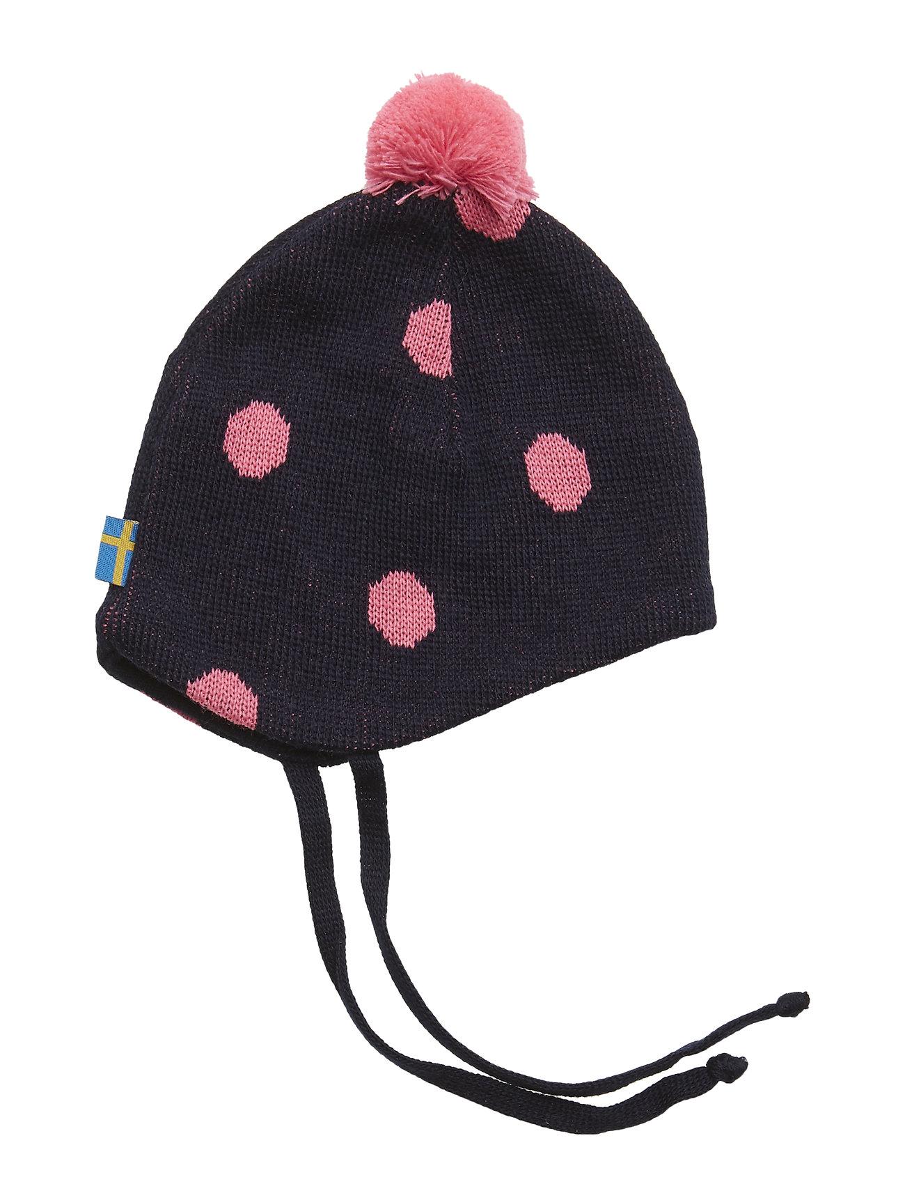 Knitted Helmet (Marine cerise) (£23.40) - Geggamoja -  03cde7acb99