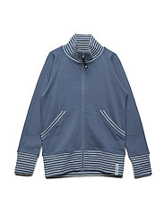 Zipsweater - SOFT BLUE