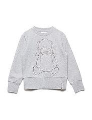 College sweater - GREY MEL
