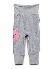 Pig pants - GREY MEL