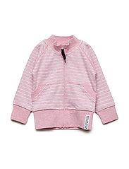 Zipsweater Classic - PINK DAISY STRIPE