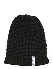 Knitted Beanie - BLACK