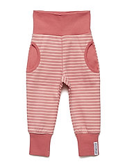 Babytrouser - SOFT RED/PEACH