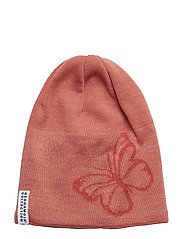 Knitted beanie - BUTTERFLY